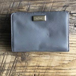 Grey Kate Spade wallet